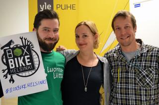 Audio: Laatikkopyörä -tulevaisuuden menopeli kaupungissa?