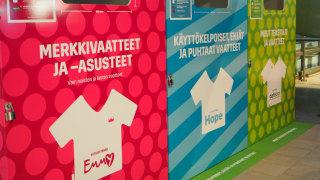 Audio: Vaatteen kierrätys on nyt arkipäiväisen helppoa