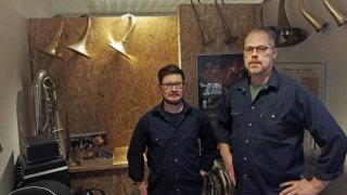 Audio: Puhallinkorjaajat työssään