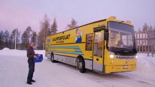 Audio: Kauppa-auton matkassa Pudasjärvellä