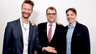 Audio: Kuntavaalitentissä Juha Sipilä (kesk.): Soten aikatauluttaminen harkinnassa