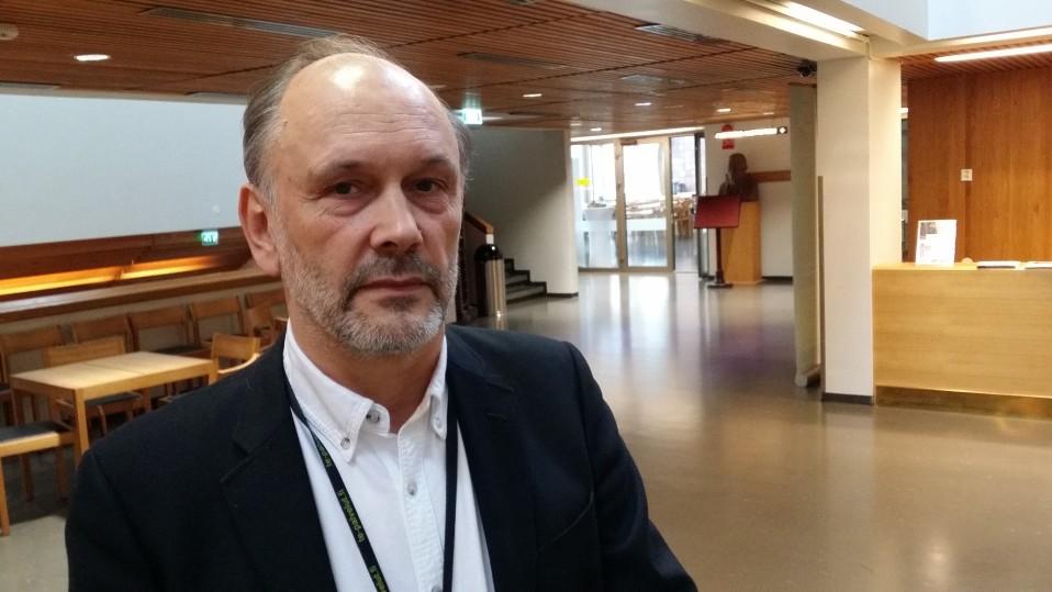 Varsinais-Suomen TE-toimiston johtaja Kjell Henrichson