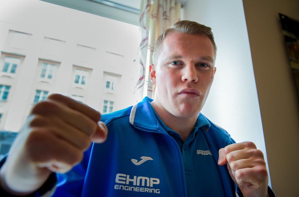 Nyrkkeilijä Tomi Honka