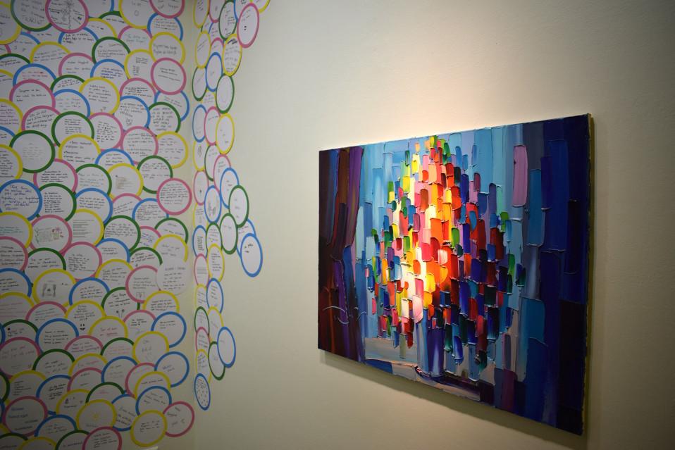 Nuoret valitsivat teokset taidenäyttelyyn museon kokoelmasta: