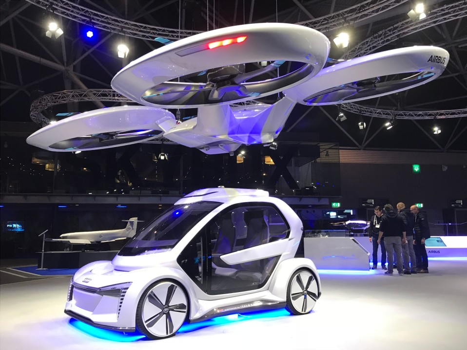 Airbus Amsterdam High Level Conference on Drones tapahtumassa