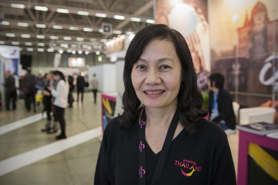 Pakkanan Winijchai, aluejohtaja, Thaimaan matkailutoimisto TAT.