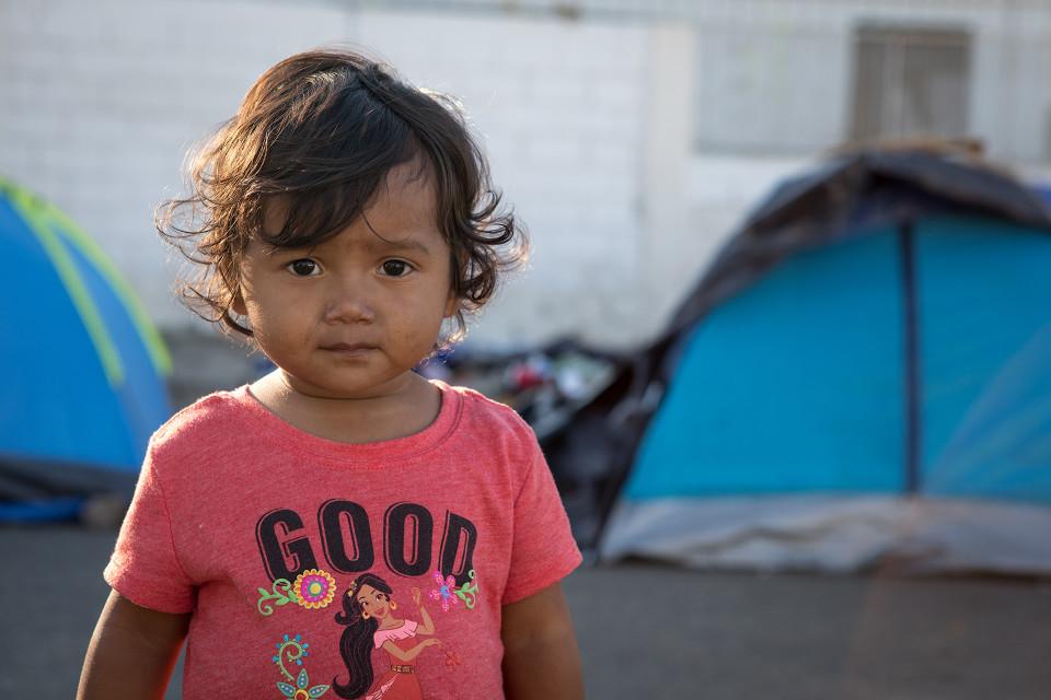 Hondurasilaisen Gabriela Regaladon tytär Sofia, 1,5 vuotta.