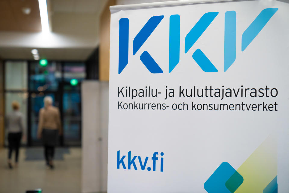 Lobby of the Finnish Competition and Consumer Authority.