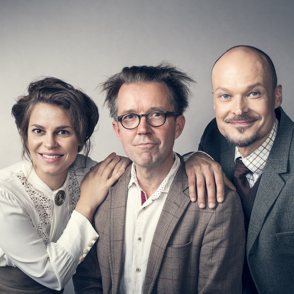 Tuuli Takala, Tuomas Parkkinen, Ville Rusanen