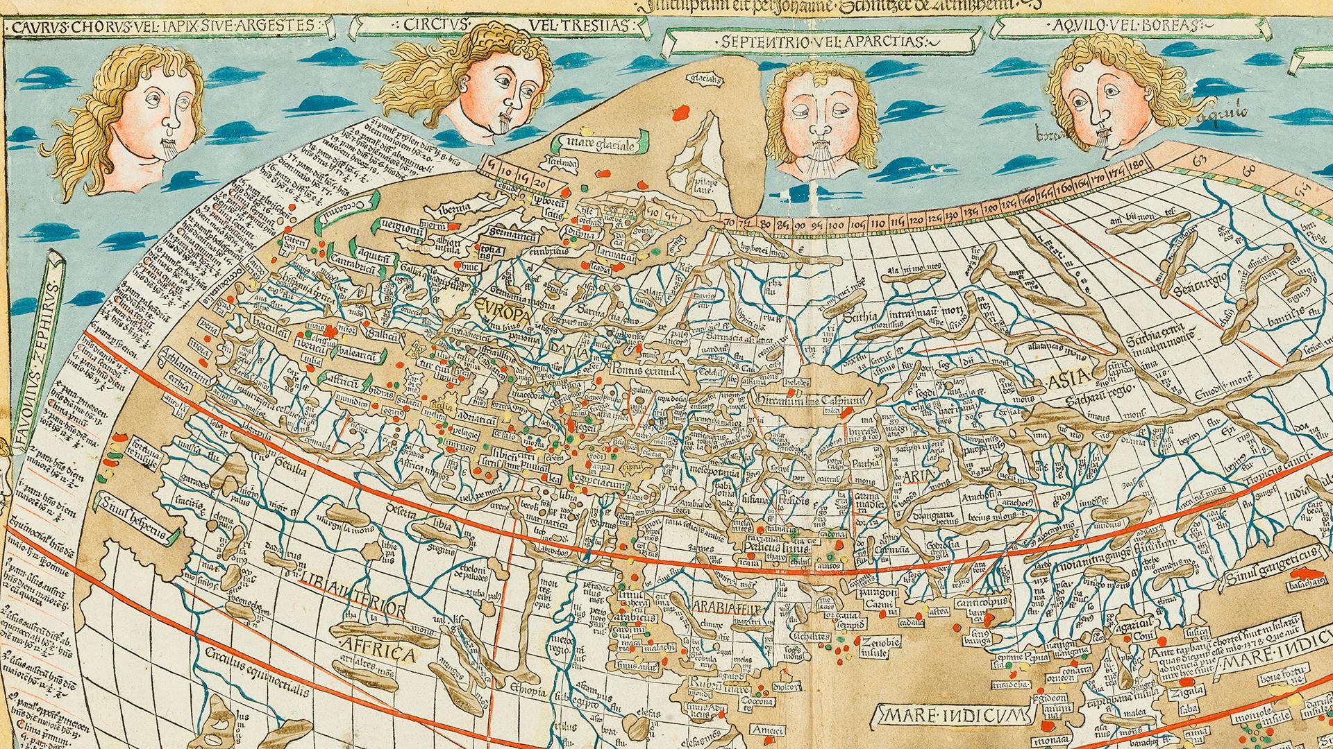 Maailmankartan historiaa   Jakso 2: Maailmankartan historiaa: Ptolemaioksen uudelleen löytäminen ja eurooppalaisten löytöretket