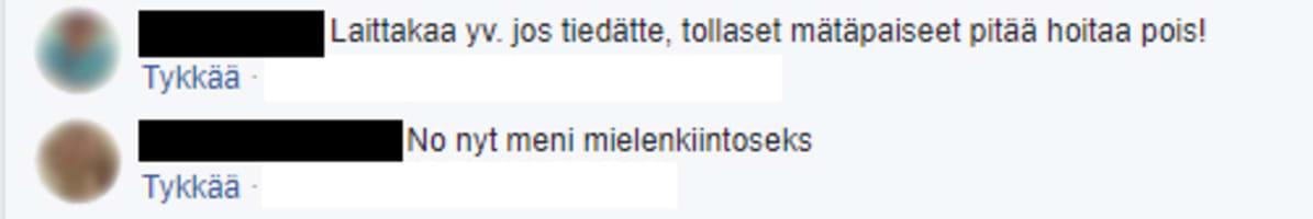 Facebook-kommentit