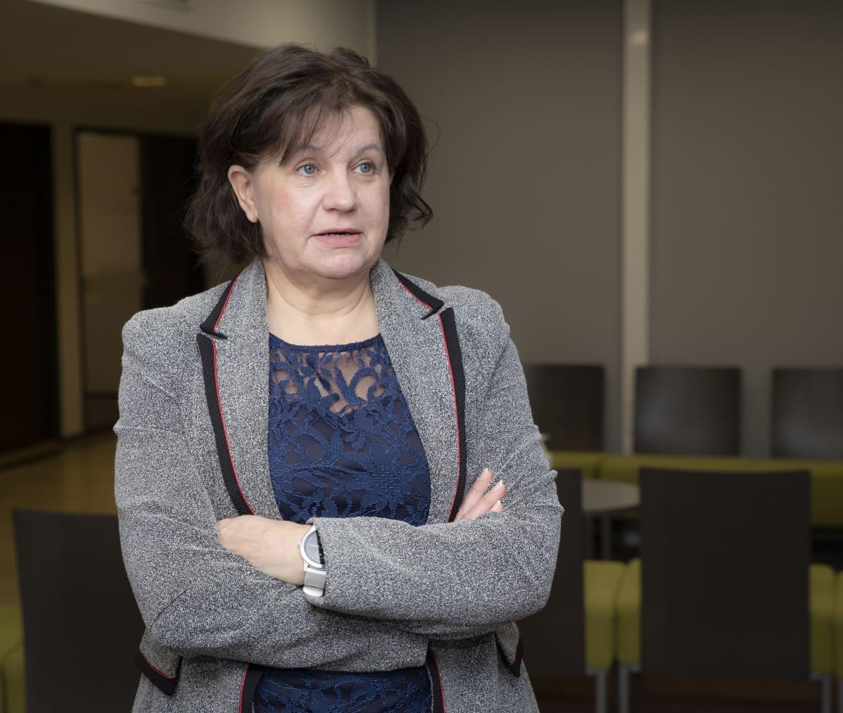 Seuren toimitusjohtaja Anne Sivula