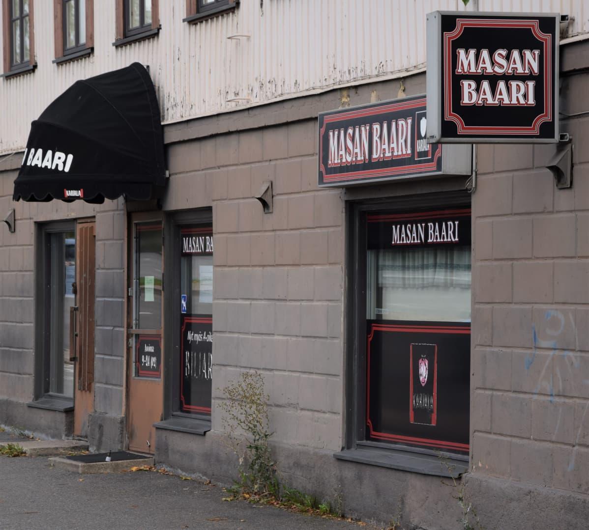 Raunistulan kaupunginosan oma kantapaikka on sulkenut ovensa.