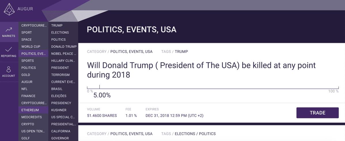 Donald Trump -salamurha-kuvakaappaus