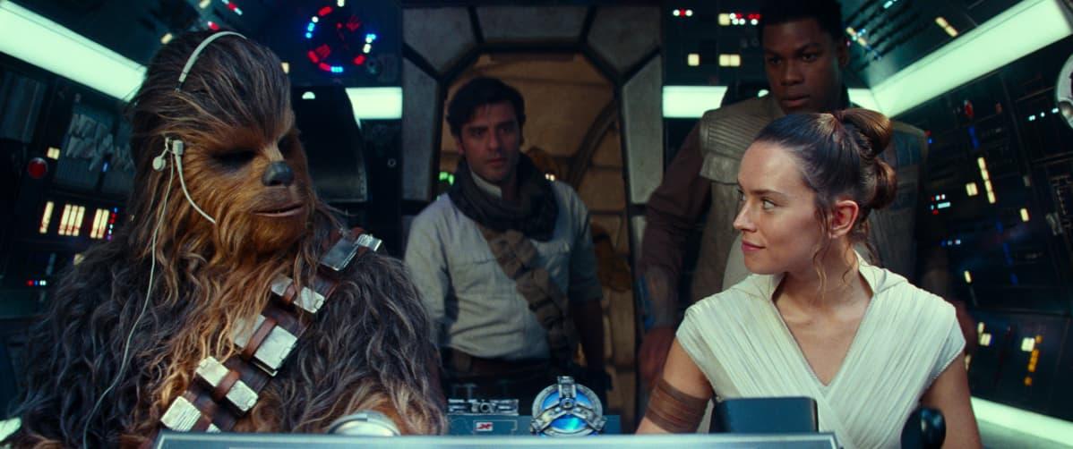 Joonas Suotamo palaa Chewbaccan rooliin uusimmassa Tähtien sota -elokuvassa.