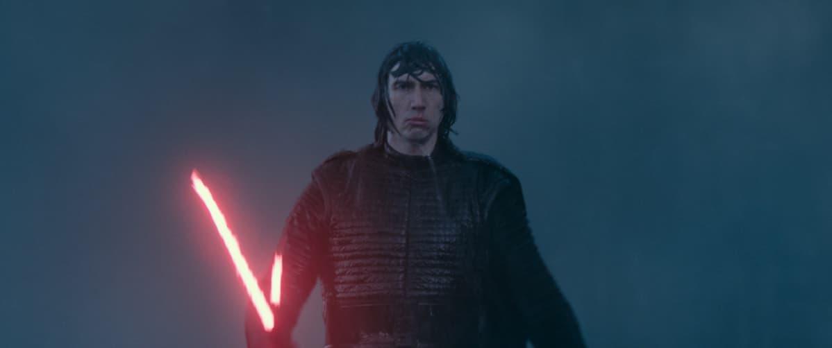 Lehdistökuva elokuvasta Star Wars: The Rise of Skywalker.