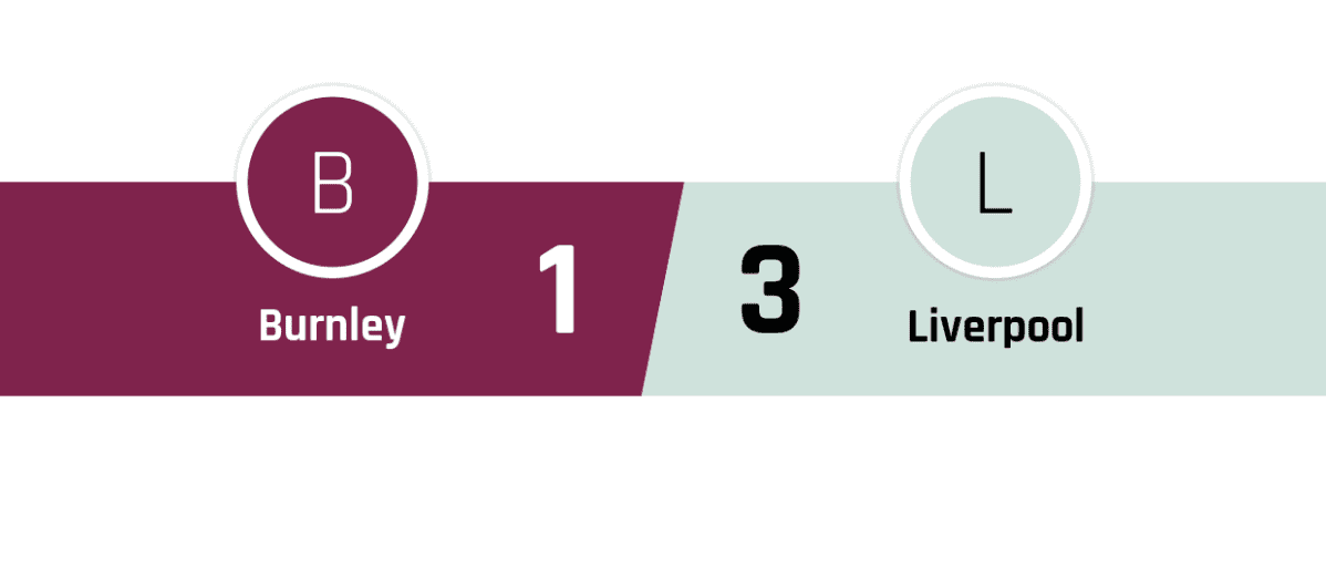 Burnley - Liverpool 1-3