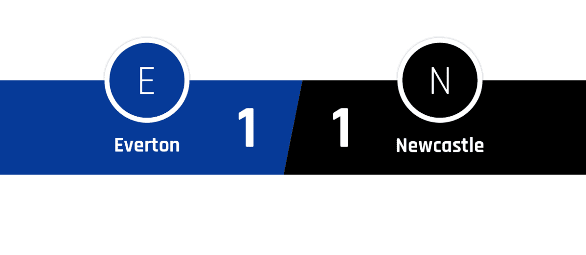 Everton - Newcastle 1-1