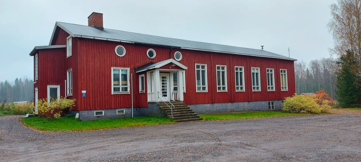 Vähikkälän seurantalo.