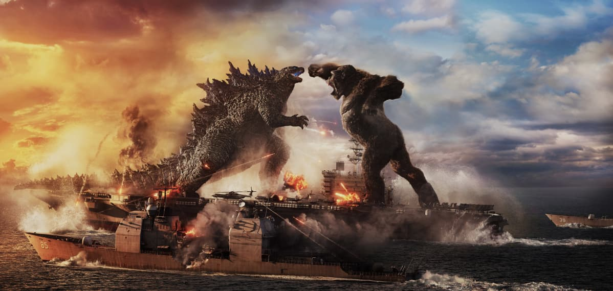 Godzilla ja King Kong taistelevat