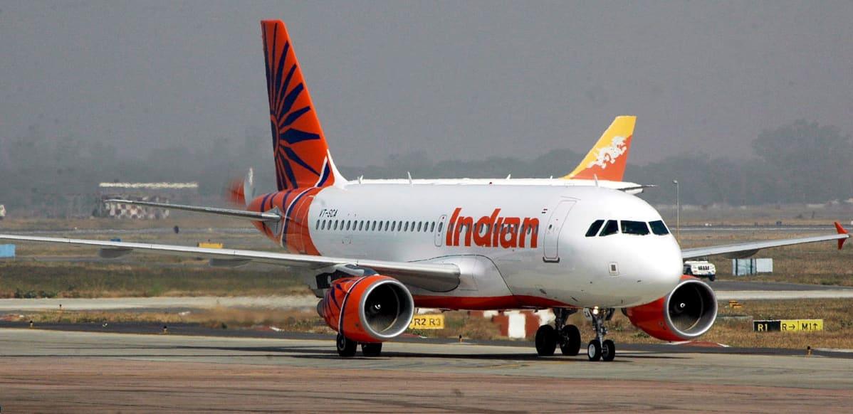 Air India hankki Airbus A-319-matkustajakoneita vuonna 2005.