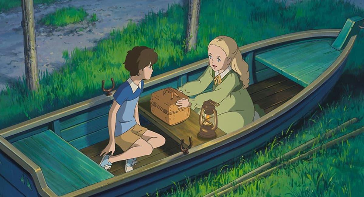 Still-kuva elokuvasta Marnie - tyttö ikkunassa.