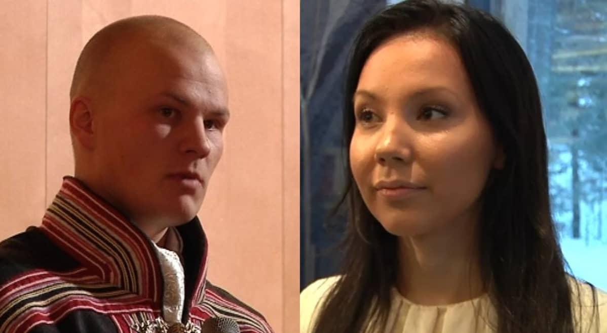 Tuomas Keskitalo ja Anne-Maria Magga