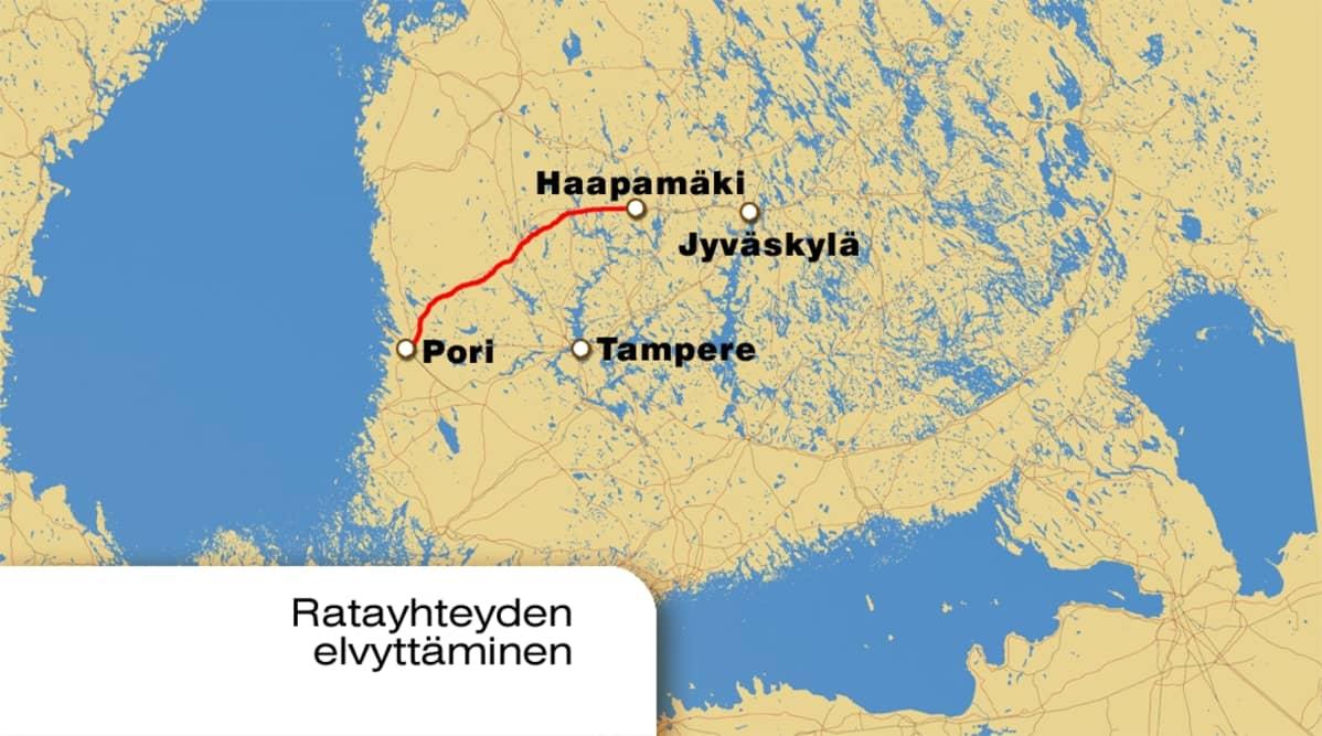 Selvitys Julkistetaan Pori Haapamaki Rata Uudelleen Auki