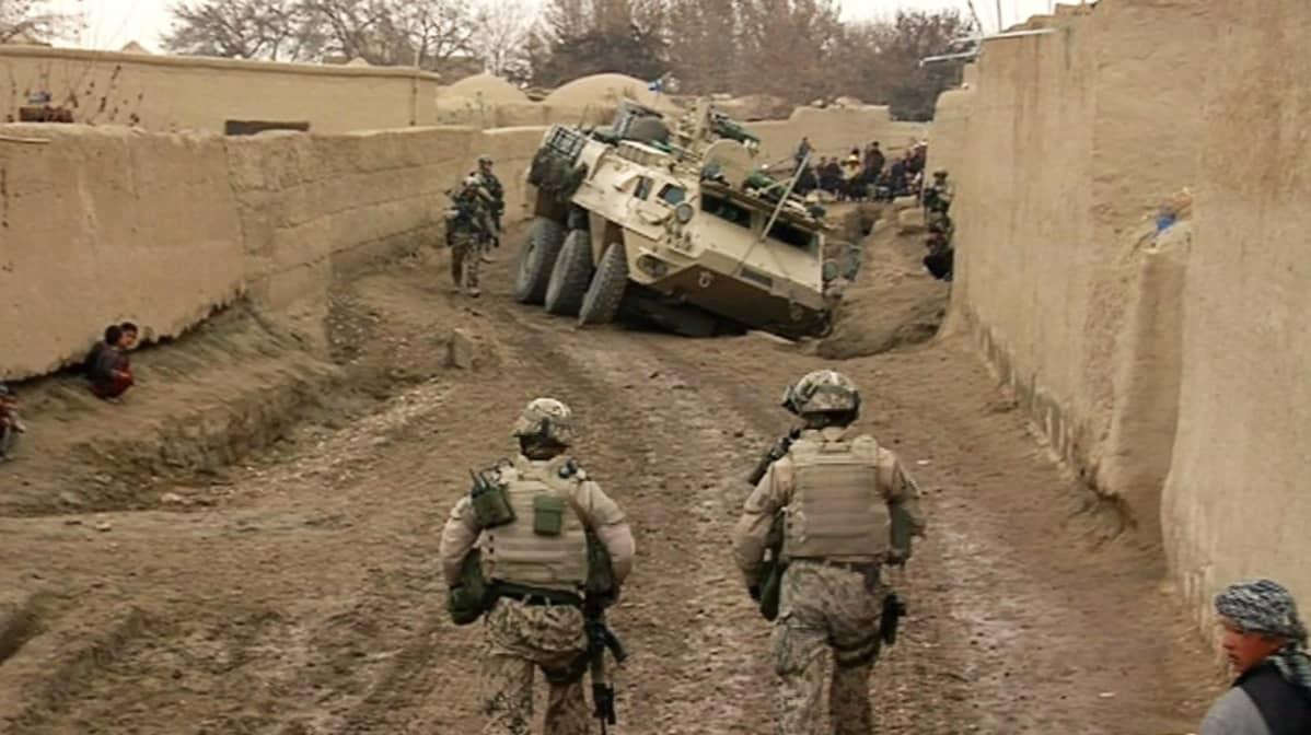 Pohjoismaiden armeijat Afganistanin kriisinhallintaoperaatiossa.
