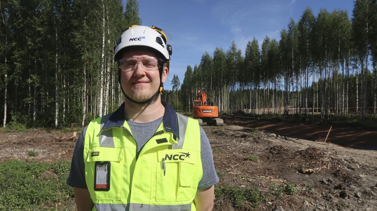 Samu Mustonen, NCC