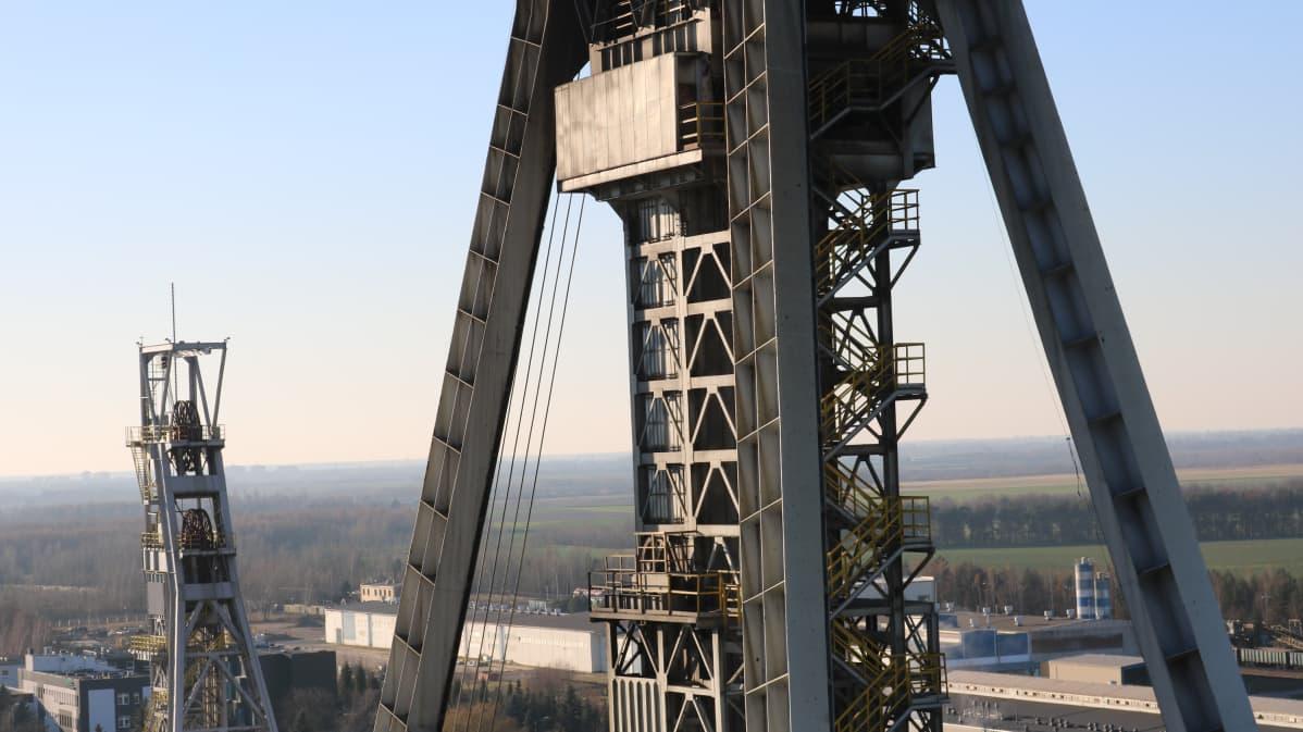 Bogdankan hiilikaivos sijaitsee itä-Puolassa Lublinin kaupungin lähistöllä.