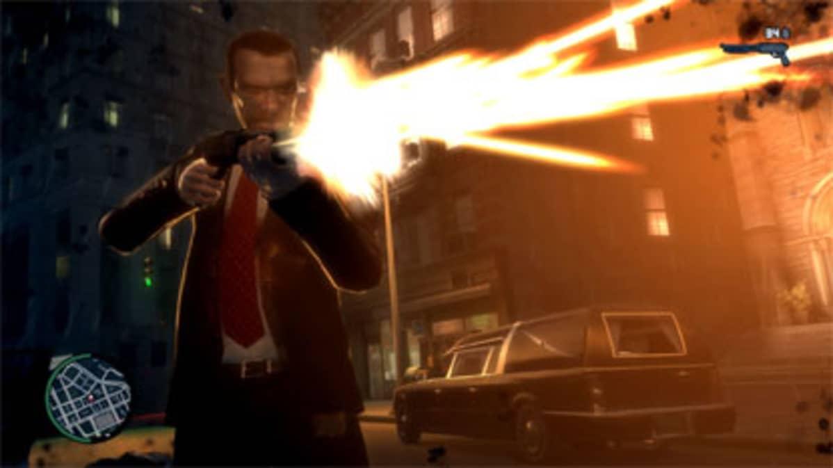 GTA on kaikkien aikojen suosituin pelisarja maailmassa. Pelin neljäs osa on väkivaltaisuutensa takia kielletty alle 18-vuotiailta