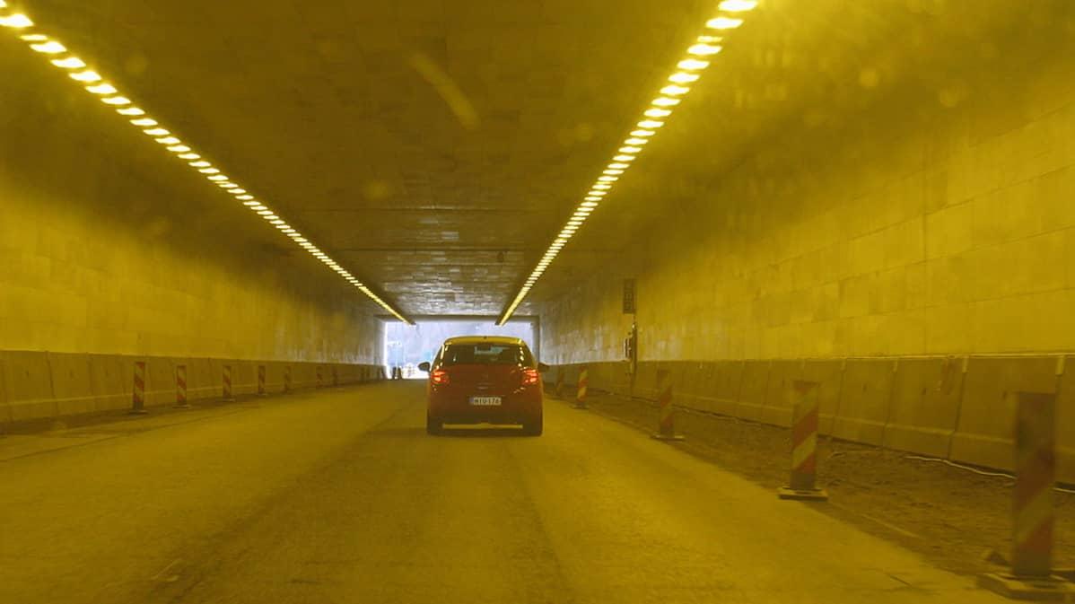 Hämeenlinnakeskuksen tunneli