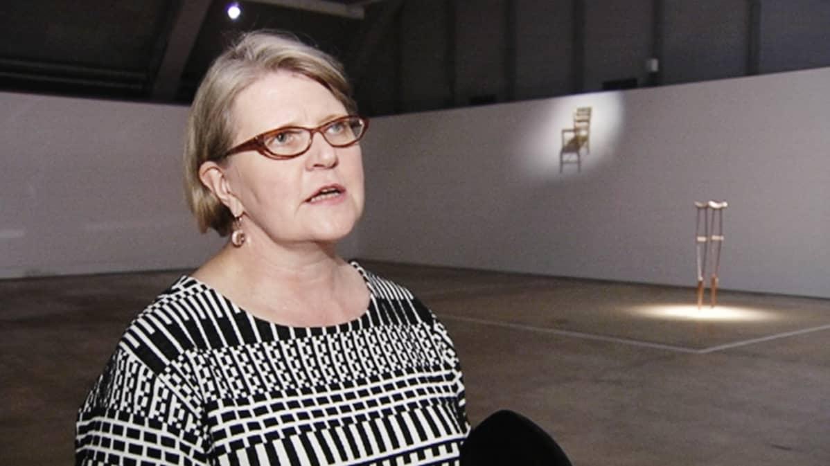 Helsingin taidemuseon johtaja Maija Tanninen-Mattila.