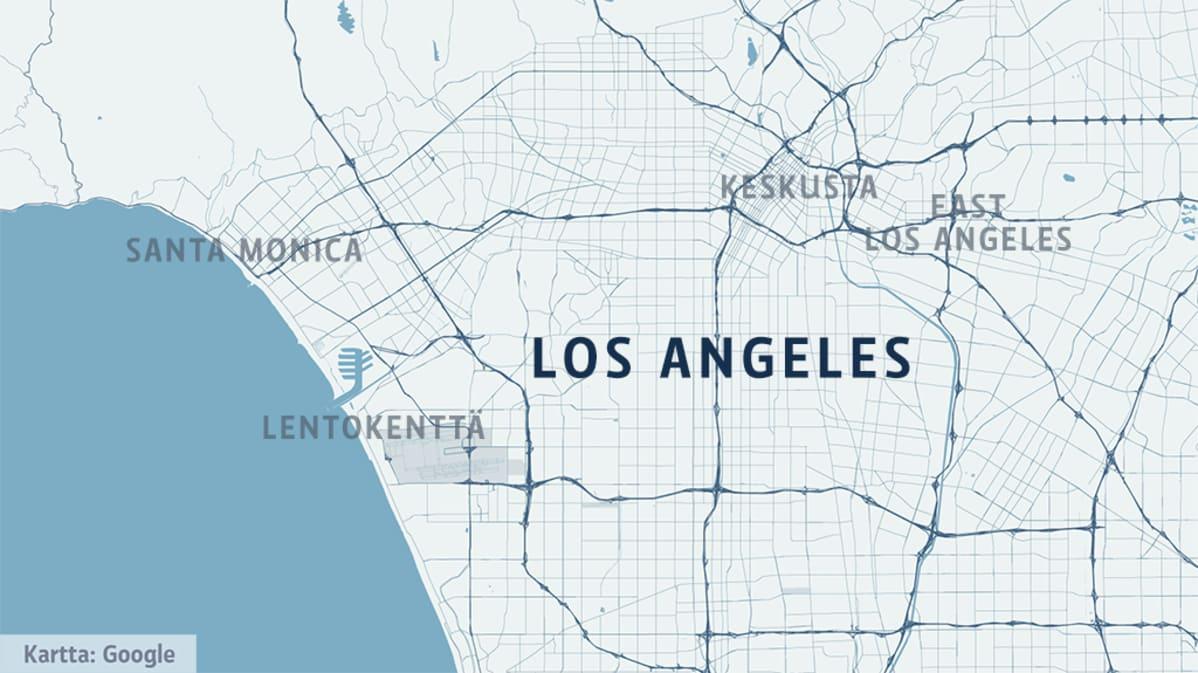 Los Angelesissa Auto Ei Ole Enaa Pakko Joukkoliikenne Kasvaa