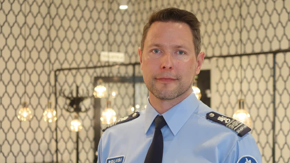 Ylikomisario Sami Hätönen