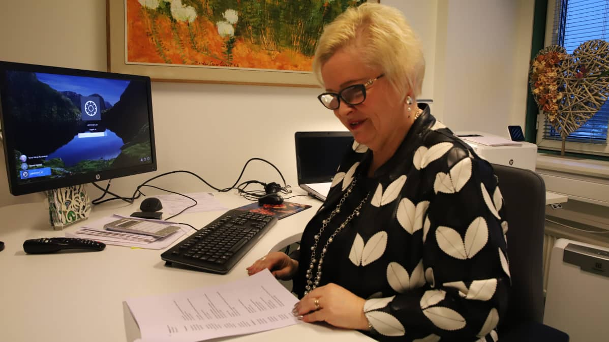 Rovaniemen kaupungin kulttuuripalveluiden päällikkö Merja Tervo