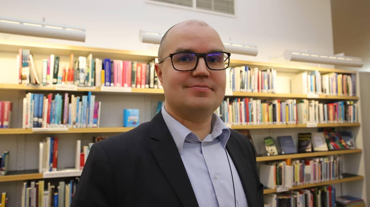 Rovaniemen henkilöstöjohtaja Antti Määttä