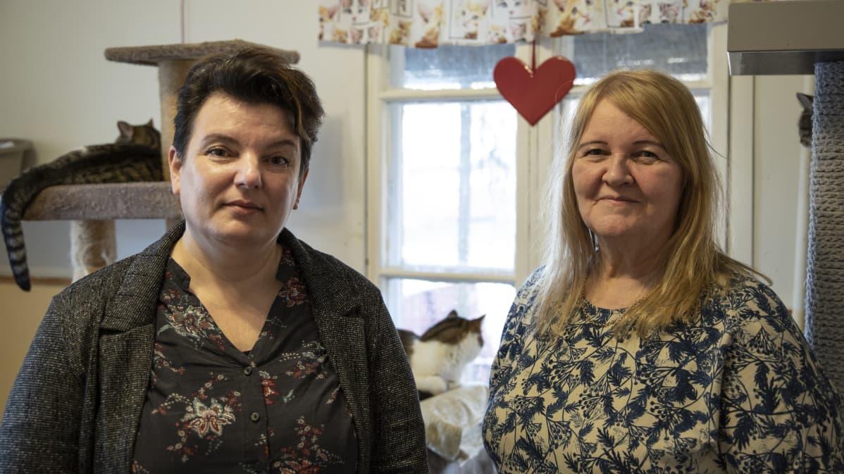 Tina Hakola ja Kirsti Ikola