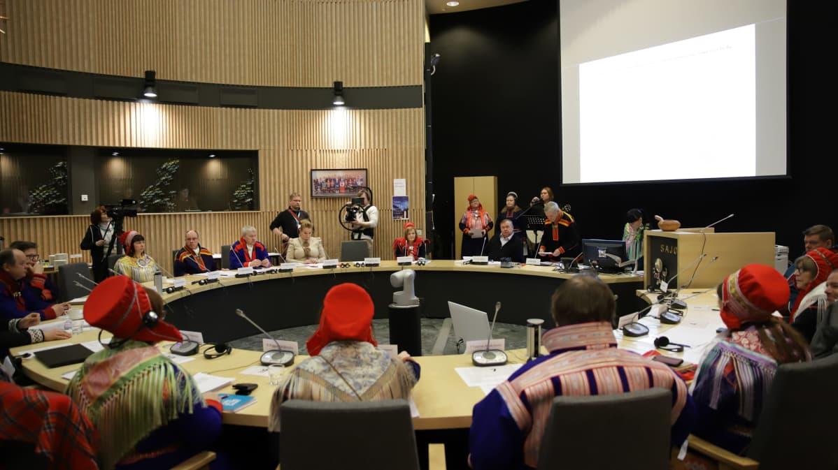 Saamelaiskäräjien järjestäytymiskokous 27.2.2020