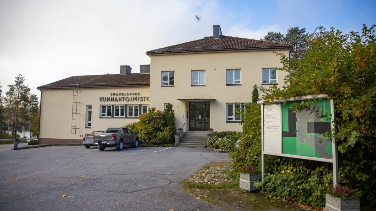 Ruokolahden kunnantoimisto.