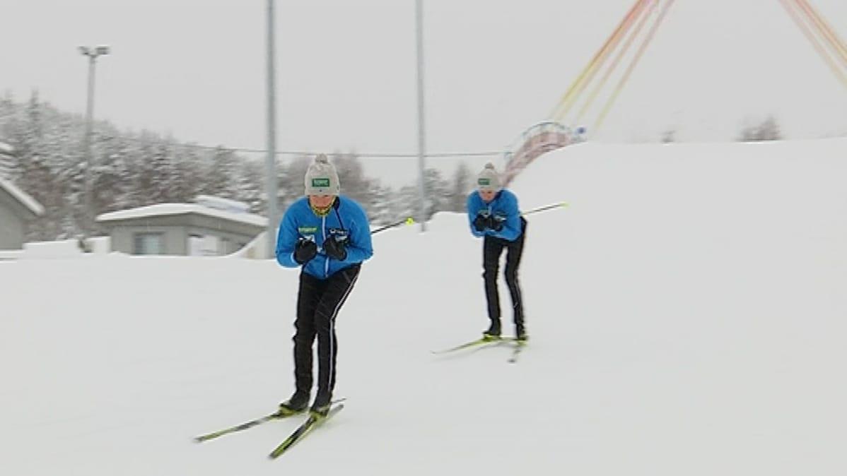 Yhdistetyn suomalaislupausten tähtäin maailman huipulla