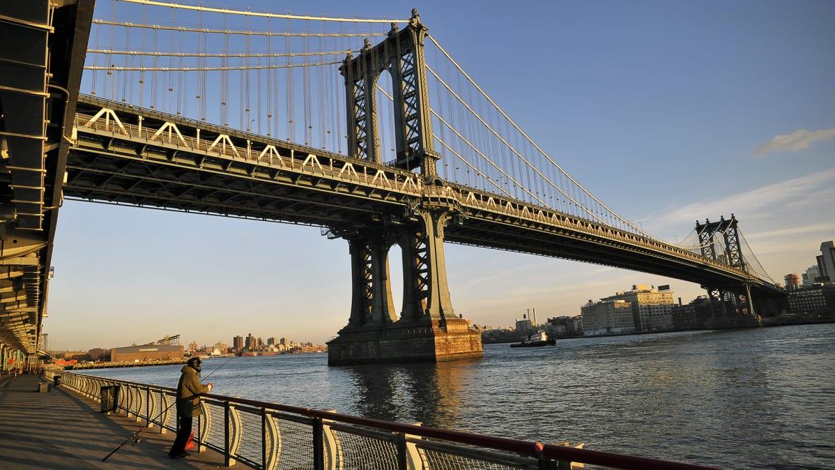 Hudson River New Yorkissa.