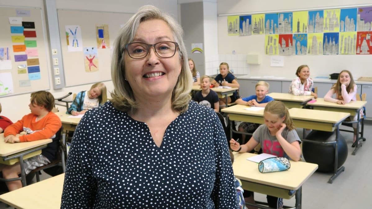 Opettaja Susanna Merisalo