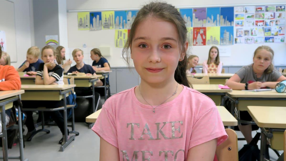 Aliisa Salmi Sorrilan koulu 4B