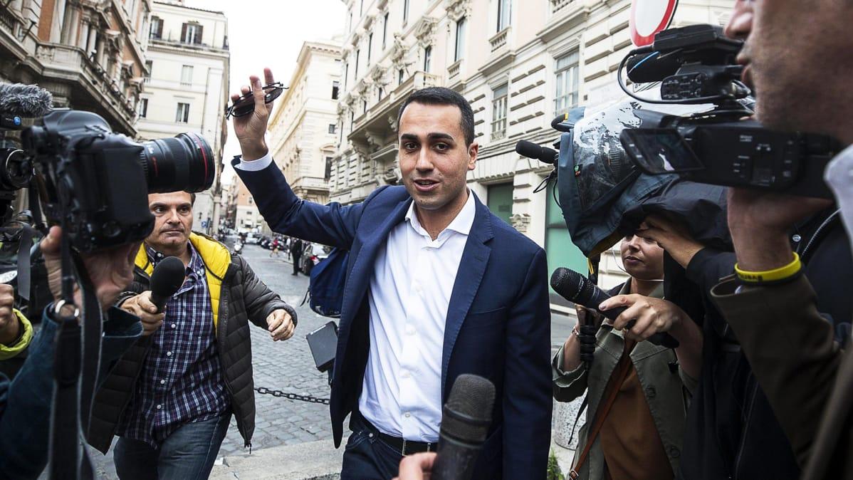 Viiden tähden liikkeen johtaja Luigi Di Maio