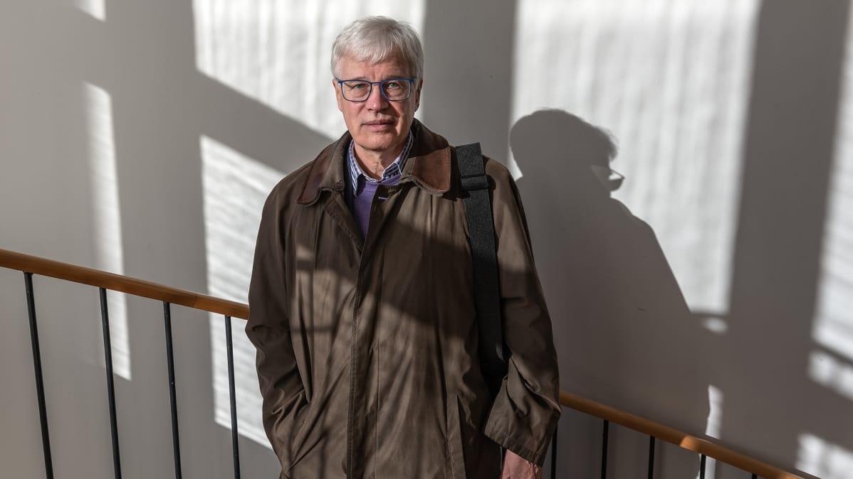 Talousnobelisti Bengt Holmström