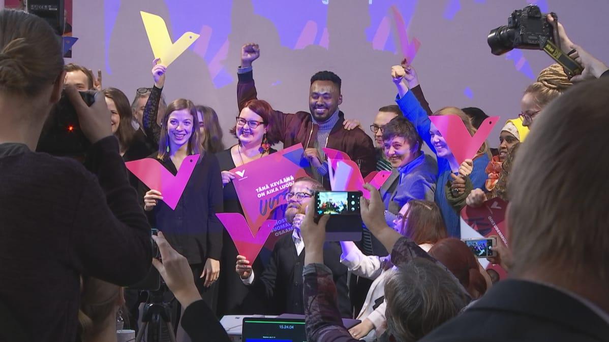 Vasemmistoliitto julkaisi tänään oman eduskuntavaaliohjelmansa sekä käynnisti kevään vaalikampanjan.