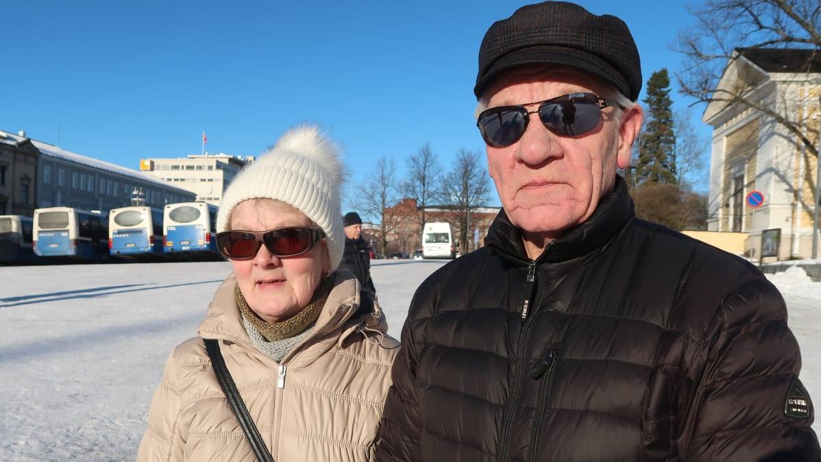 Tamperelaiset Eero ja Laila Kestinmäki