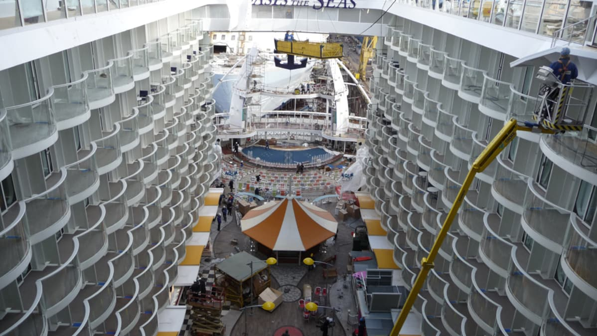 oasis of the seas risteilijä